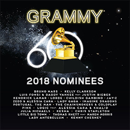 2018 GRAMMY® ノミニーズ